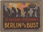 A World War I poster depicting stevedores at work.