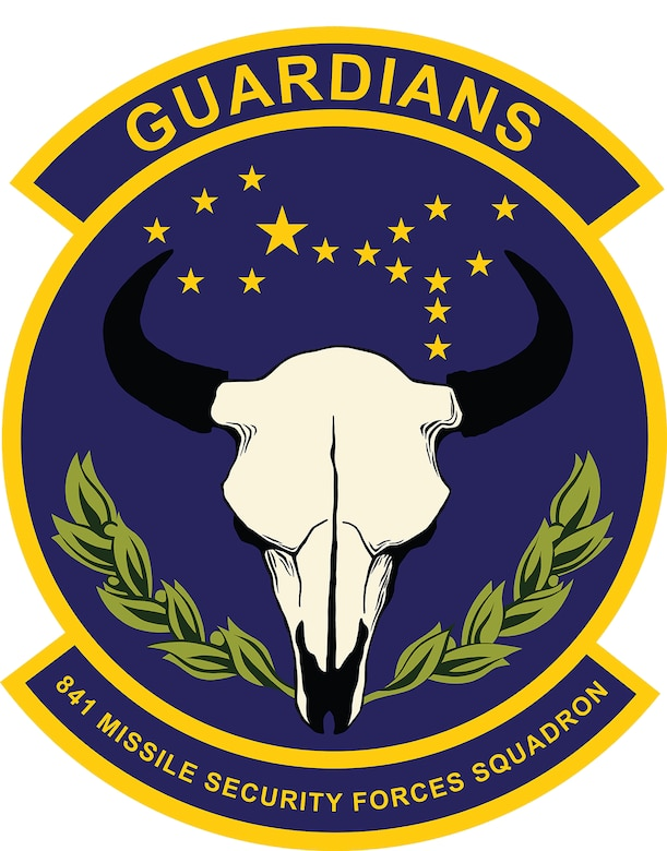 841st Missile Security Forces Squadron shield.