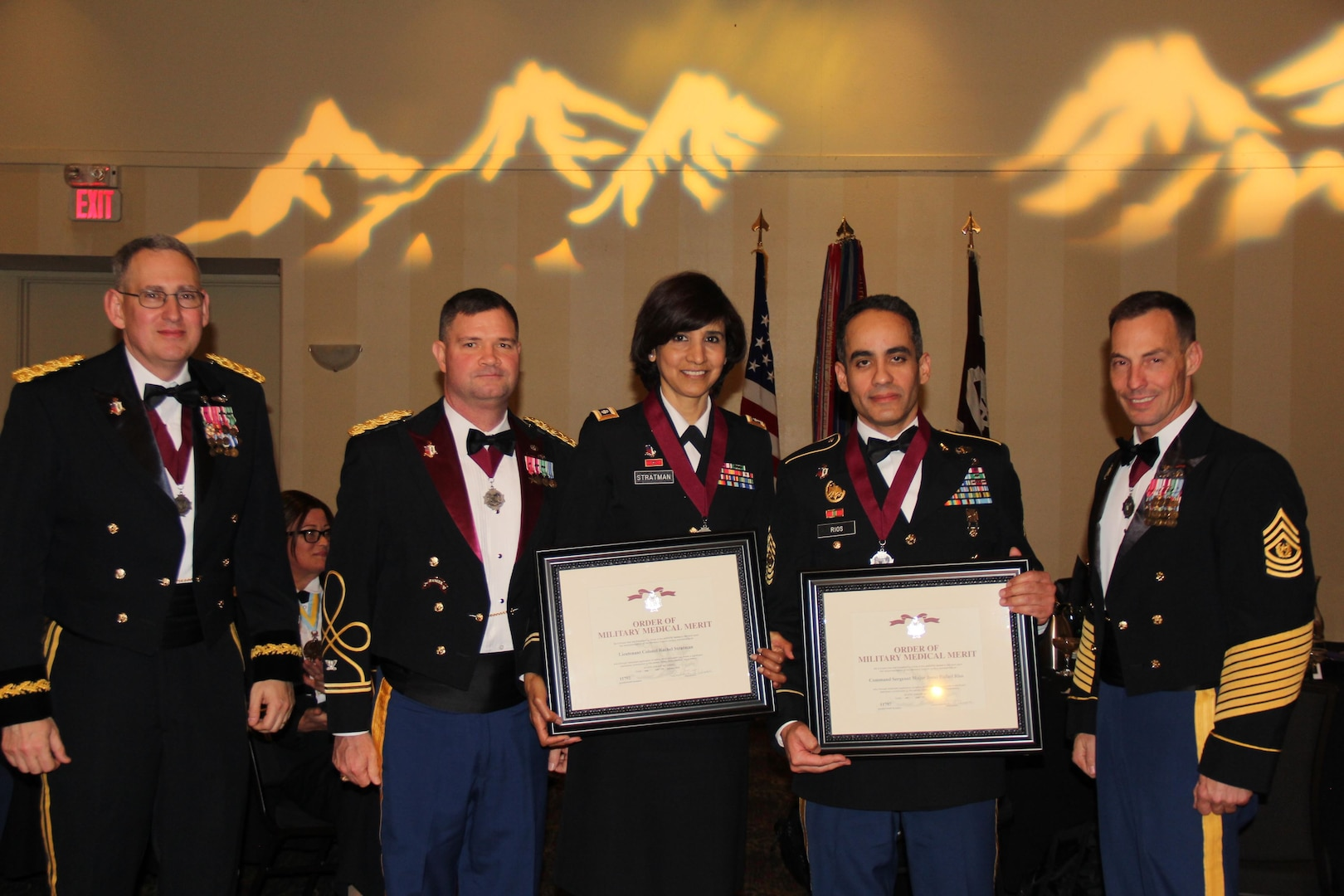 MEDDAC-AK leaders honored with O2M3