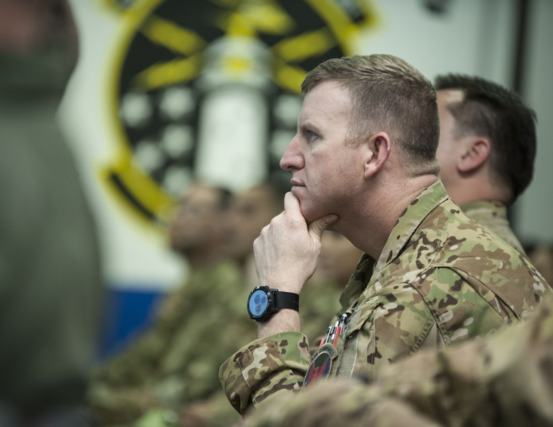 USTRANSCOM command senior enlisted leader visits the 353rd SOG