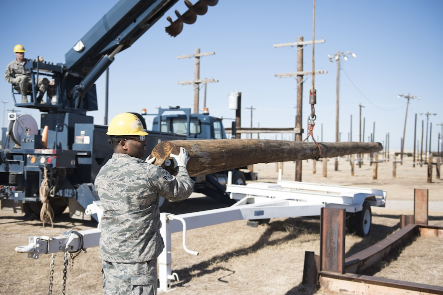 366th Training Squadron electrical systems training