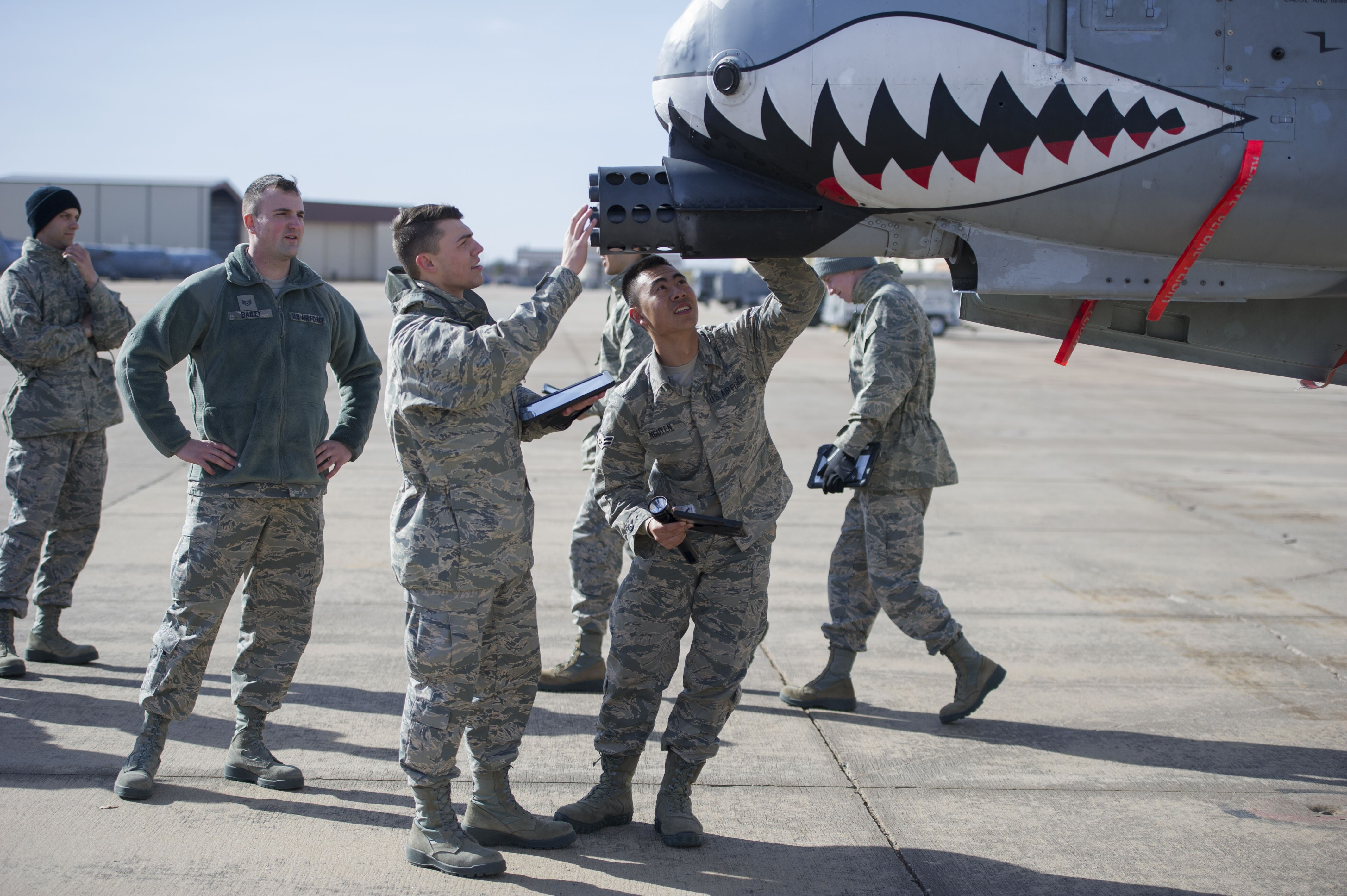 362nd Training Squadron Crew Chief Training