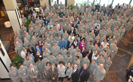 More than 300 Air Force financial customer service technicians received training and updates on issues, policies, and processes during a workshop in San Antonio, Jan. 29-Feb. 2.