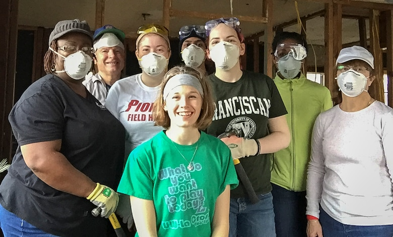 Wright-Patt Chapel group helps Hurricane Harvey victims in Texas.