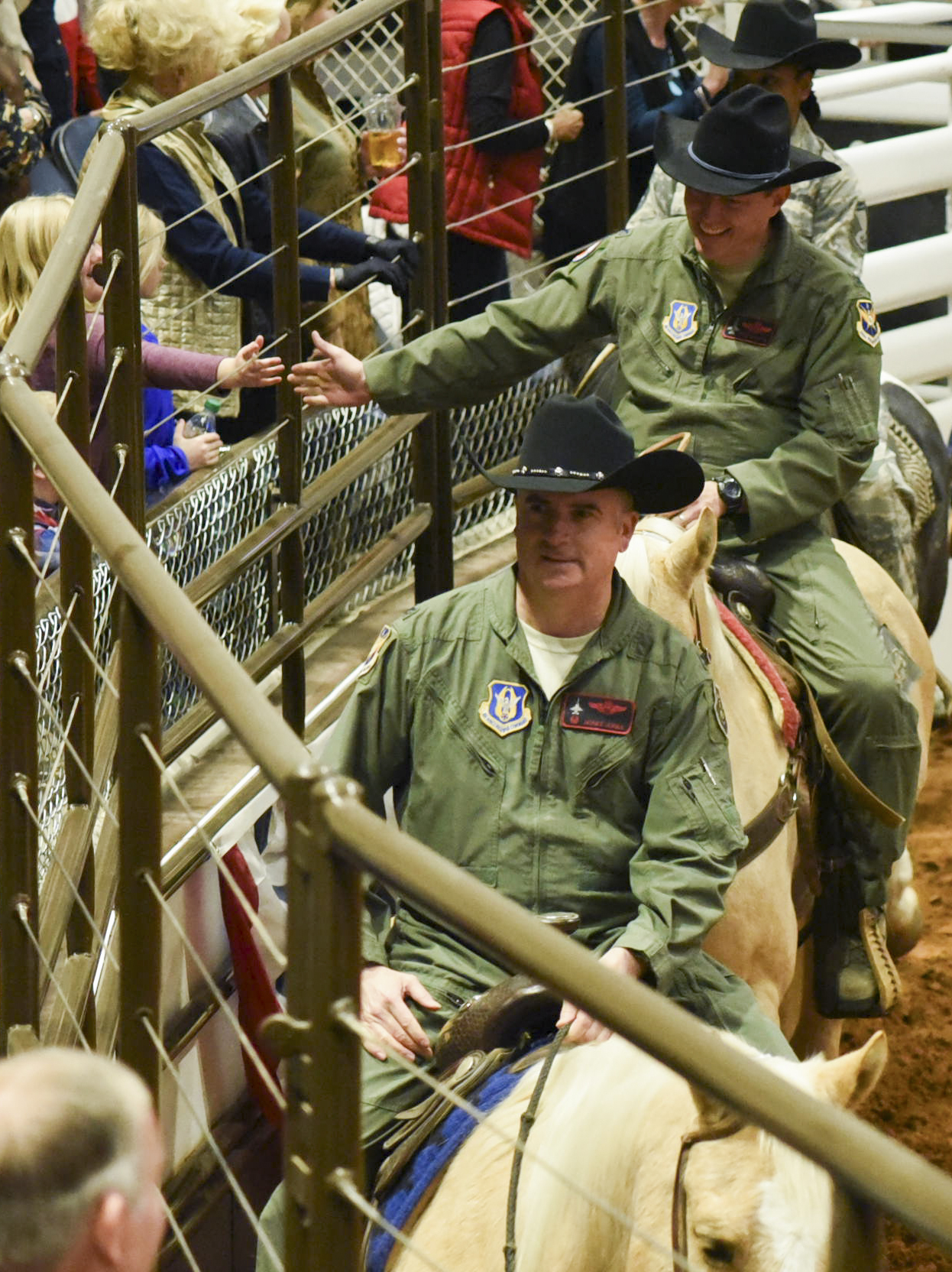 Centennial Rodeo Hosts Military Day