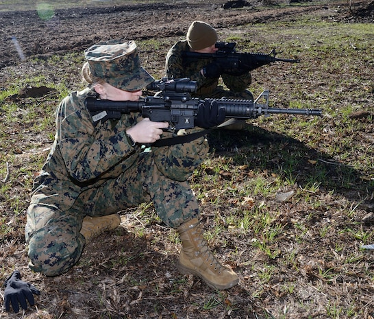 Grass Week: Marines prepare for rifle range