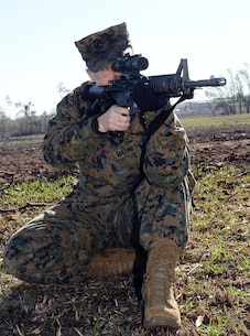 Grass Week: Marines prepare for rifle range