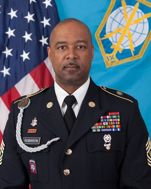 Command Sergeant Major Michael J. Robinson