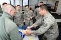 Medical Personnel from Air National Guard units across the country demonstrate their patient assessment skills during a Pre-Hospital Trauma Life Support course at Nellis Air Force Base, Nev., Jan. 27, 2018.