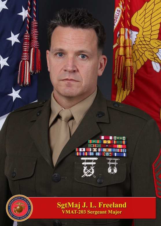 SERGEANT MAJOR JORDAN L. FREELAND