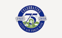 75th Anniversary logo for Altus AFB