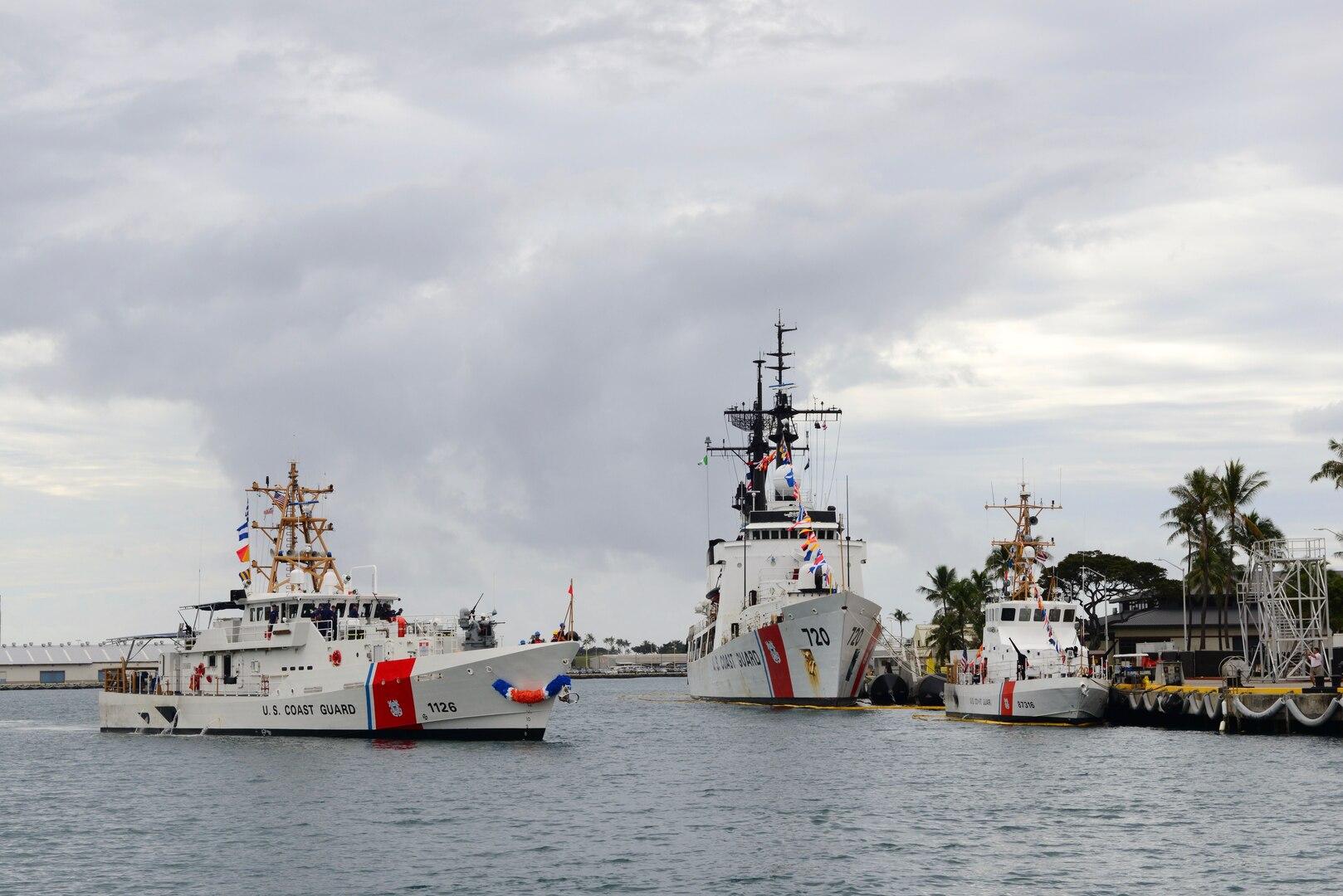 Hawaii Receives Second Sentinel-class Coast Guard Cutter