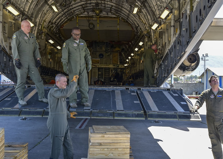 Helping those in need -- Reservists continue to deliver aid to Haiti