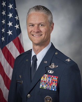 Col. Charles R. Henderson, official photo, U.S. Air Force