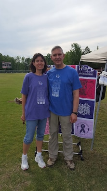 Dee and Shawn Wolfe, Relay For Life Team REMEMBER Captains (Courtesy photo)