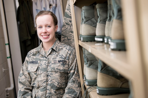 Staff Sgt. Amber Romanello is a supply specialist for the 167th Airlift Wing, West Virginia Air National Guard. She is the Airman Spotlight for the month of February.