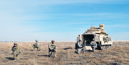 1st Infantry Division Range Operations Training