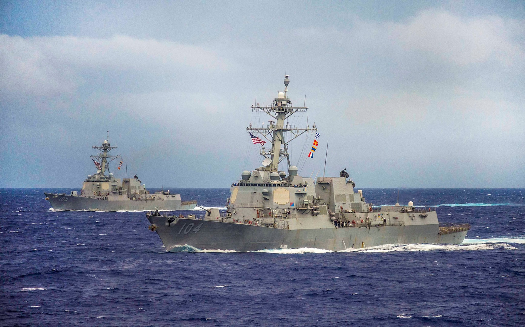 Dewey, Sterett to Depart San Diego for Indo-Pacific