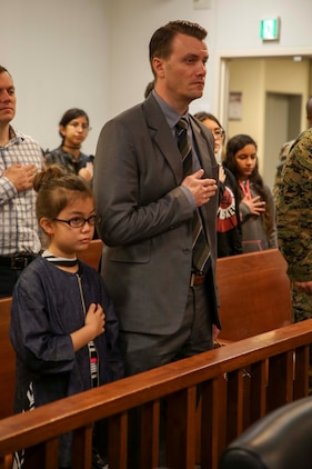 Camp Foster holds naturalization ceremony > Okinawa Marines > News