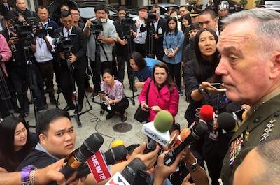 U S , Thai Leaders Reaffirm Military-to-Military Relationship > U S