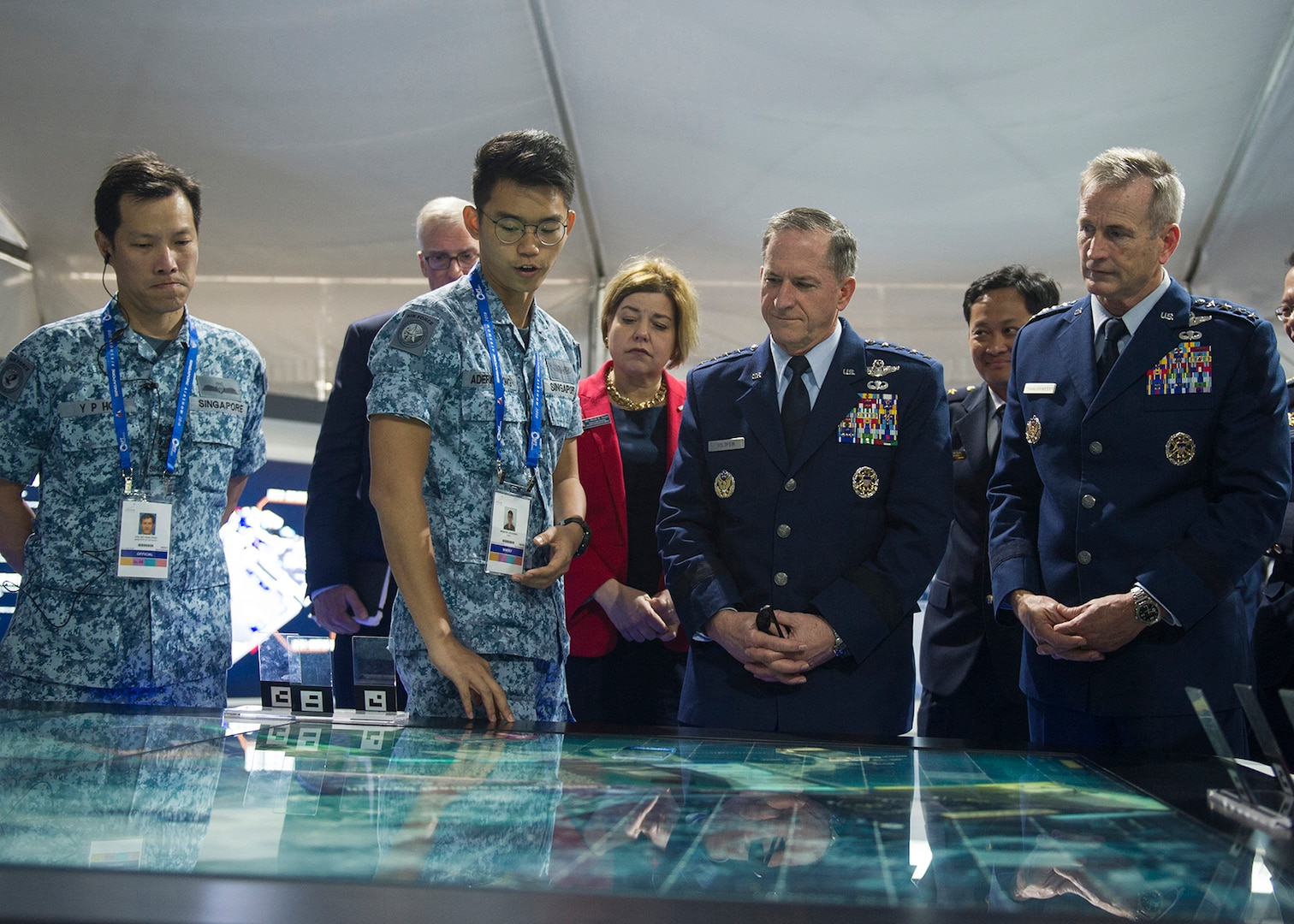 CSAF highlights strength of partnerships at Singapore International Airshow 18