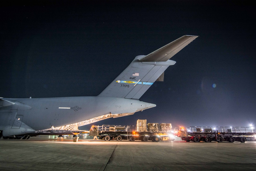 C-17 crews help realign assets to Afghanistan