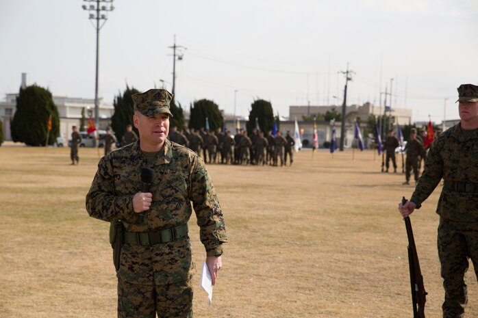 MCAS Iwakuni gives a warm sayonara to Sgt. Maj. Garza