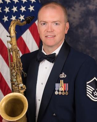 Master Sgt. Tedd C. Baker Bio Photo