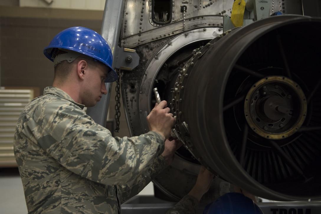361st TRS aerospace propulsion apprentice course