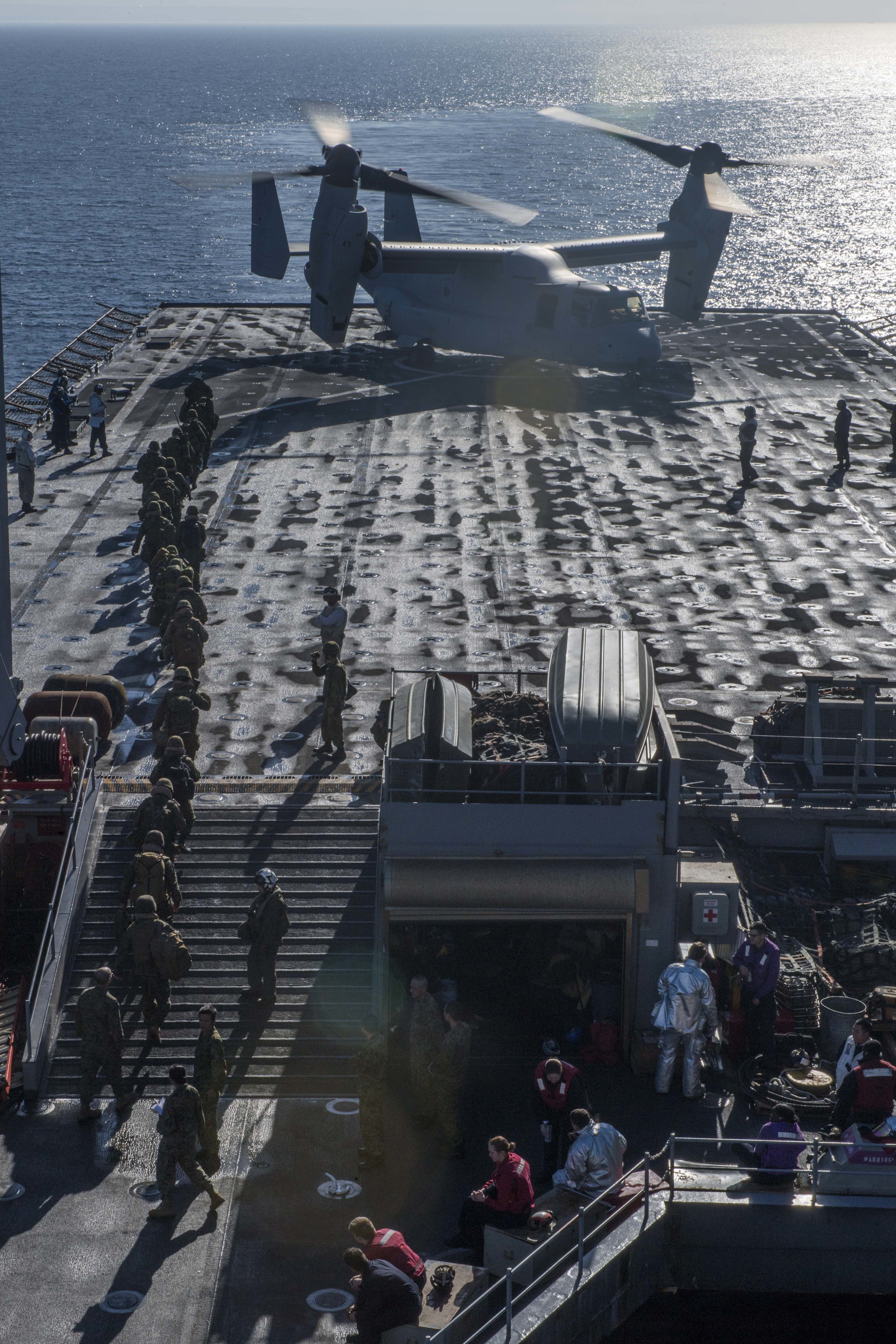 f64fe059c250 Upload Date  Photo Date  Title. U.S. Marines and Japanese forces board an  MV-22 Osprey tilt-rotor aircraft on