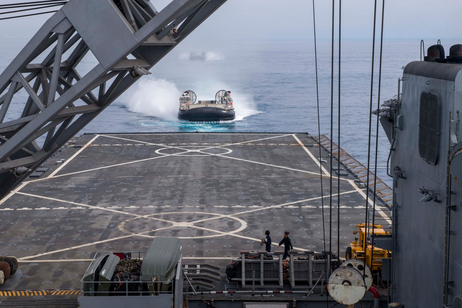 USS Rushmore concludes exercise Iron Fist 2018