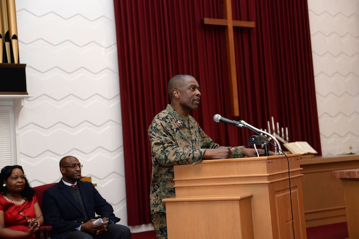 Marines observe Black History Month with program