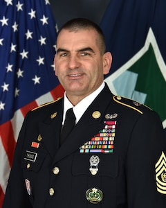 Command Sergeant Major Dennis Jay Thomas