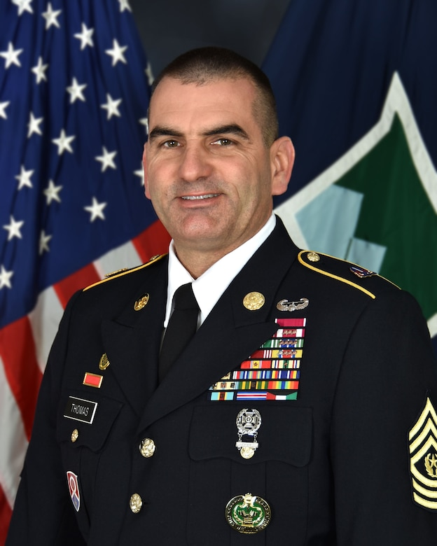 Command Sergeant Major Dennis Jay Thomas