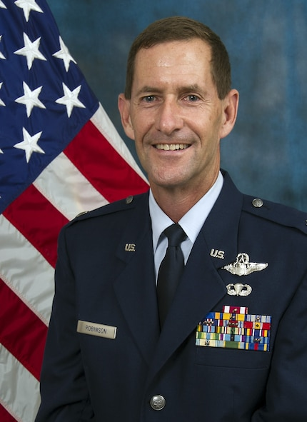 Colonel John Robinson is the commander of the 445th Operations Group, Wright Patterson Air Force Base, Ohio