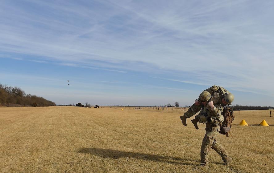 Whiteman holds JTAC contingency training