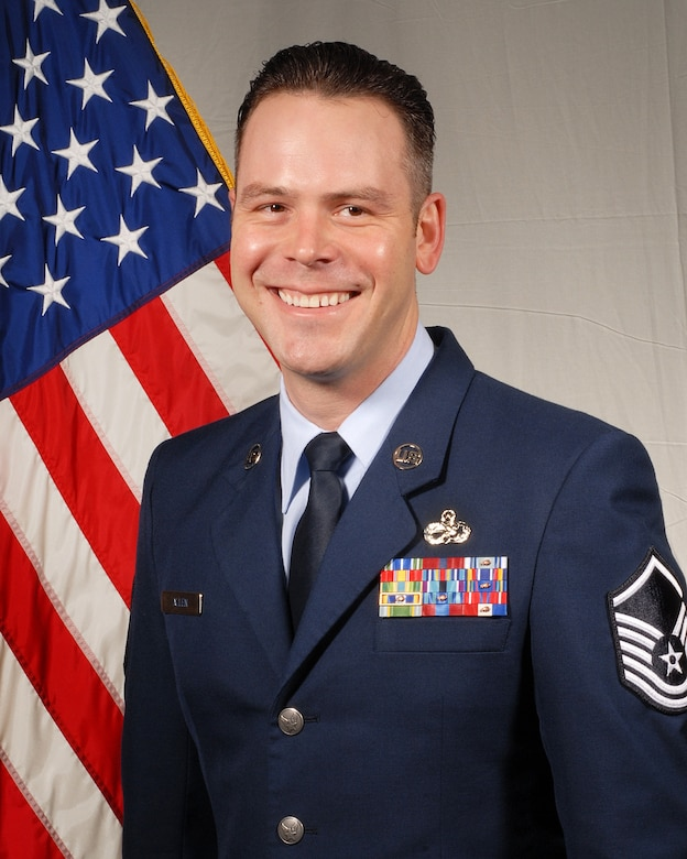 2017 Senior Non-commissioned Officer of the Year: Master Sgt. William K. Allen, with the 186th Maintenance Squadron