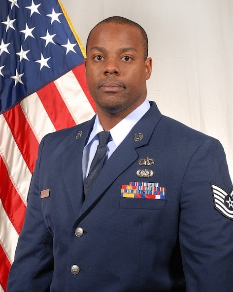 2017 Non-commissioned Officer of the Year: Tech. Sgt. Jeremy E. Benton, with the 248th Air Traffic Control Squadron