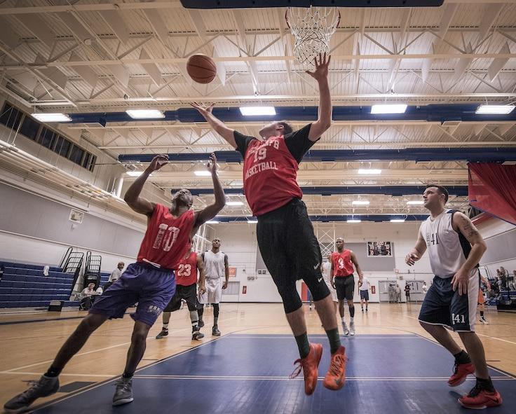 Intramural basketball 2018