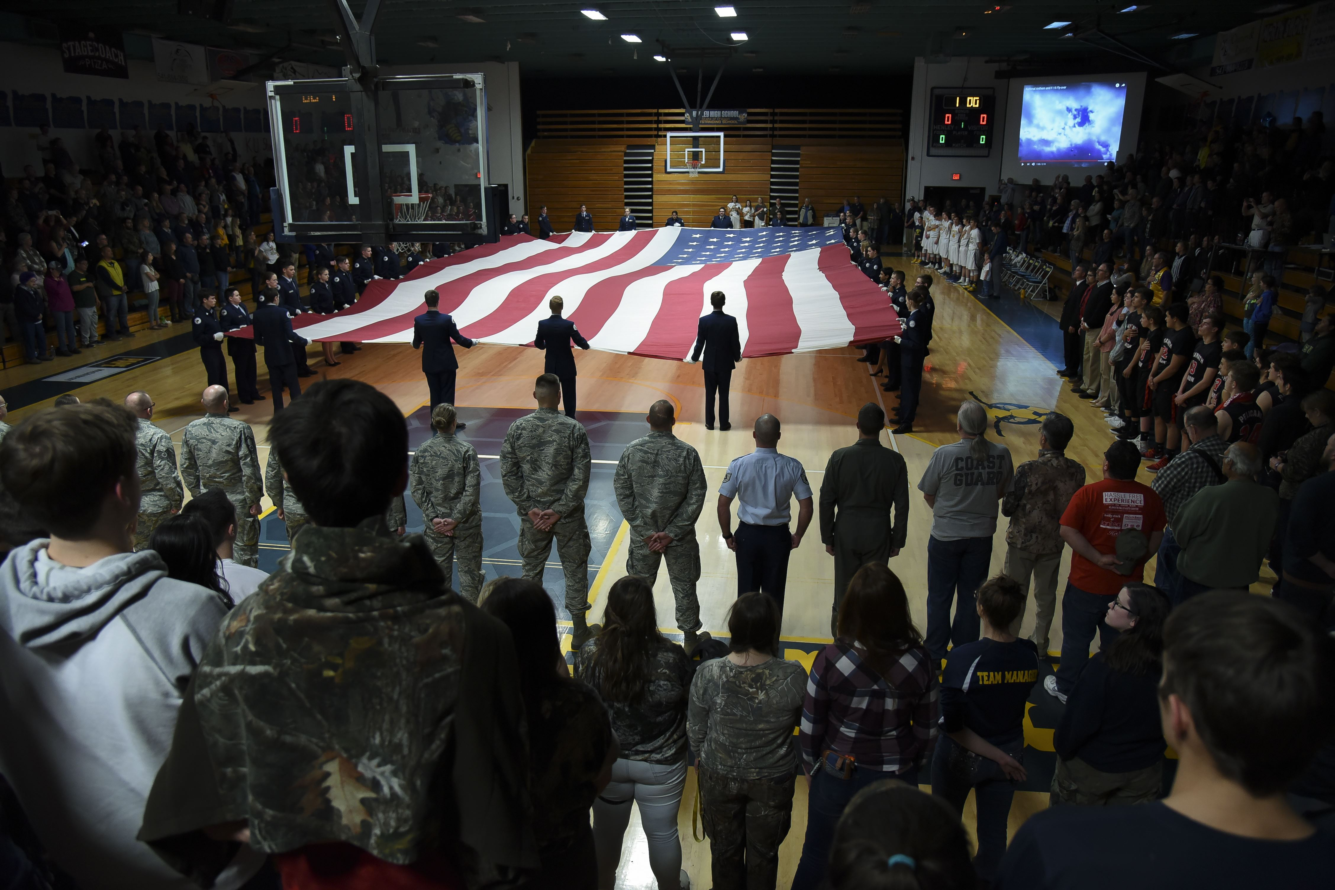 Local Klamath Falls High School Honors Military > 173rd Fighter Wing
