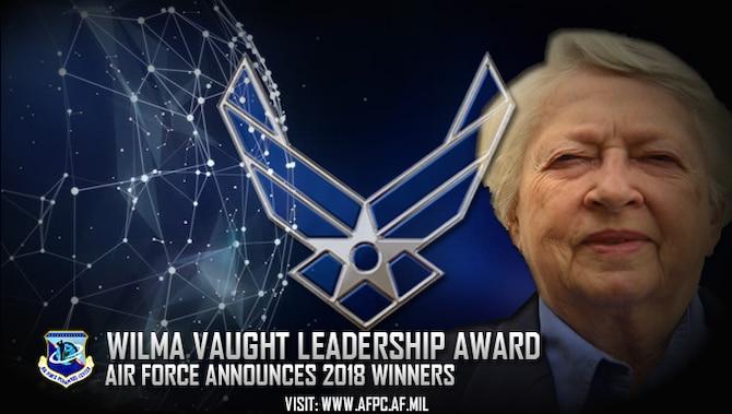 Vaught visionary leadership award winners named