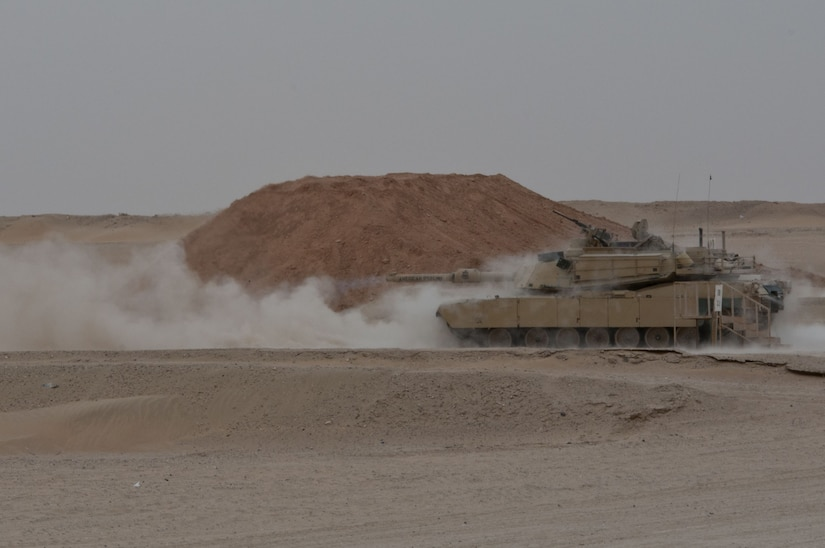 M1 Abrams Fires on Army Day