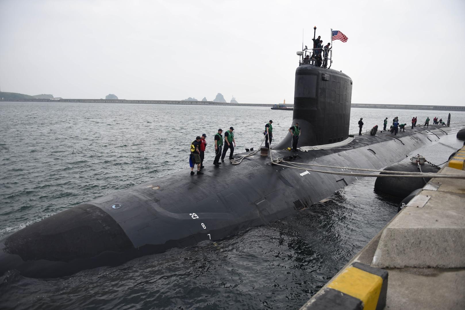 Mississippi Visits Yokosuka During Current Deployment