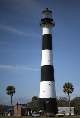 The Cape Canaveral Lighthouse Foundation hosted a festival on Feb. 10, 2018, to celebrate the 150th anniversary of the lighthouse at Cape Canaveral Air Force Station, Fla. (U.S. Air Force by Airman Zoe Thacker)