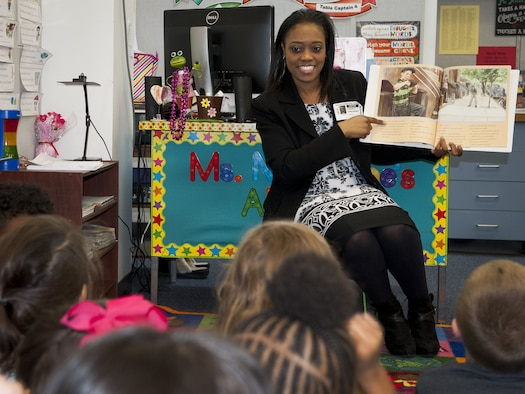 Kids get educated on black history