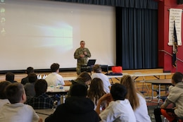 During the month of February, the U.S. Army Corps of Engineers' Middle East DISTRICT (TAM) supported three Science, Technology, Engineering and Math (STEM) events in the city of Winchester, Va., continuing a strong tradition of STEM outreach to the local community.