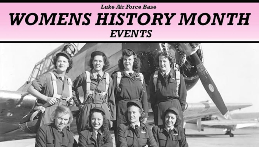 Women's History Month takes place at Luke Air Force Base Ariz.