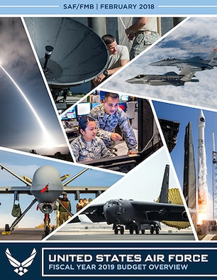 U.S. Air Force Budget Overview graphic cover