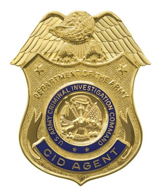 Criminal Investigation Command Badge
