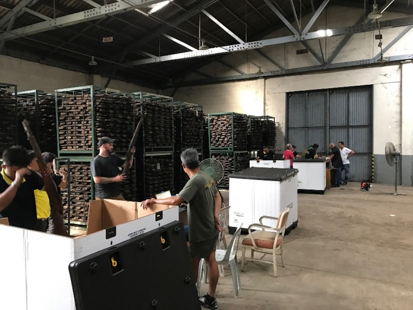 Transporting History Halfway Across the Globe: DLA Distribution repatriation project returns antique rifles from Philippines to U.S. despite obstacles